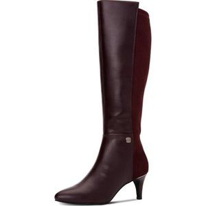 New Alfani Faux Leather Pointed Toe Knee-High Boot